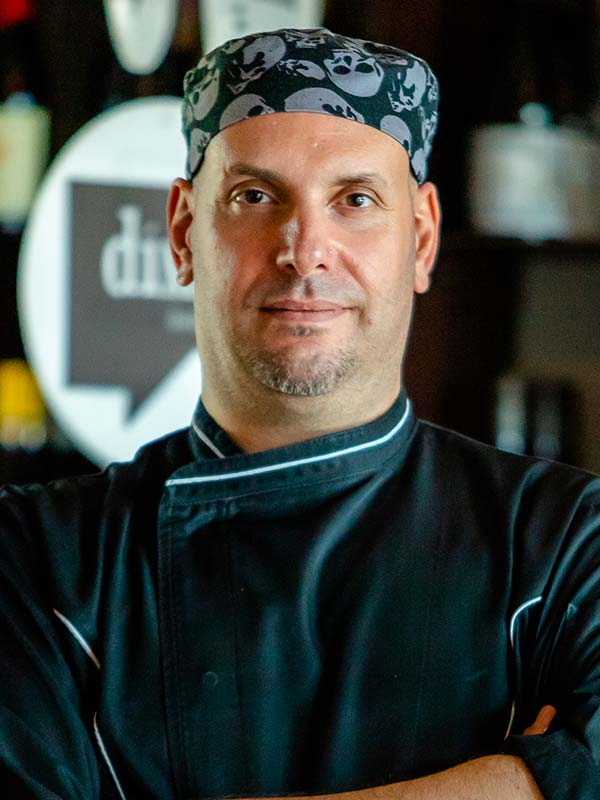 Marco Rosada aiuto Chef Dime Bistrot