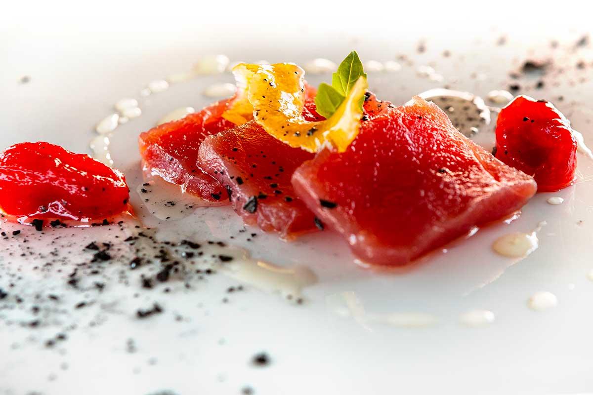 Menù di pesce raffinato ristorante a Marghera Dime Bistrot